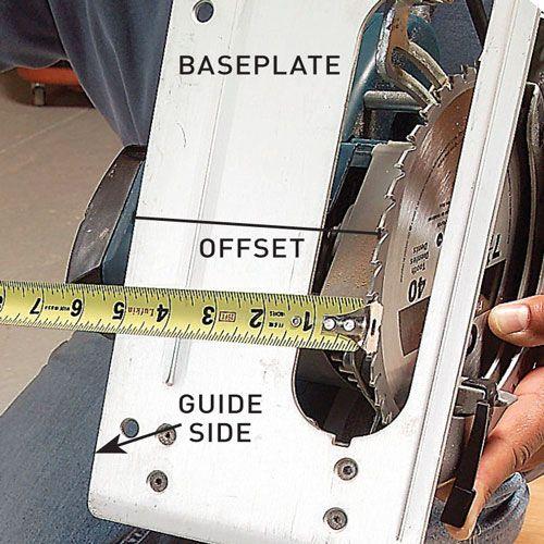 making straight cuts with a circular saw, handyman magazine,