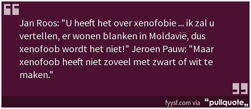 Jan Roos Snapt Xenofobie Niet! (#PAUW 28/9)  Terugkijken (24 sec.): http://www.fyysf.com/2015/09/domme-jan-roos-snapt-xenofobie-niet-pauw.html…  #1