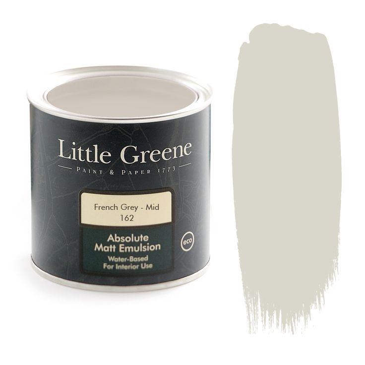 Little Greene Intelligent Matt Emulsion in French Grey Mid (162)