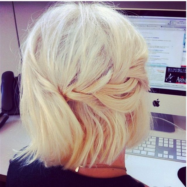 16 Ways to Style Short Hair Posted by Polished2 months agoHairstyles0 comments1K+ Every long-haired girl considers chopping off all her ha...