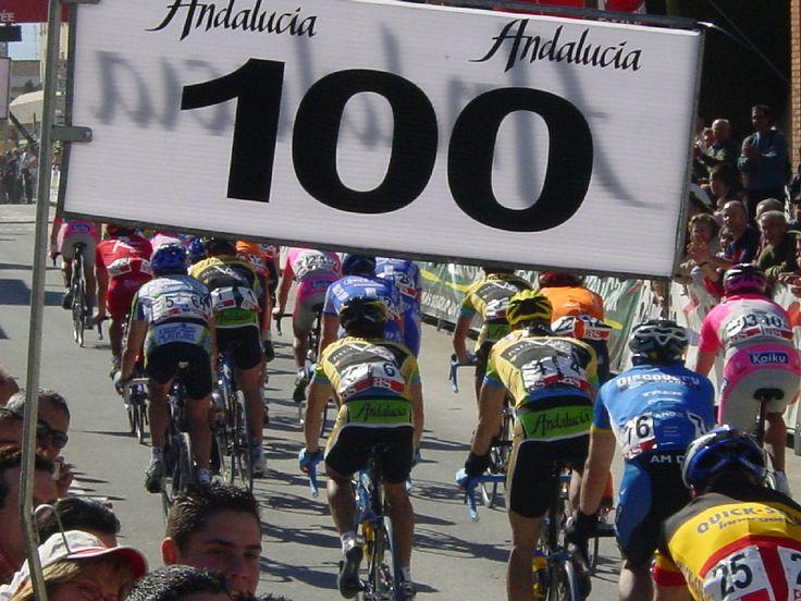 Carrera de ciclismo (jpg 207 Kb en nueva ventana)