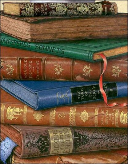 lovely old books