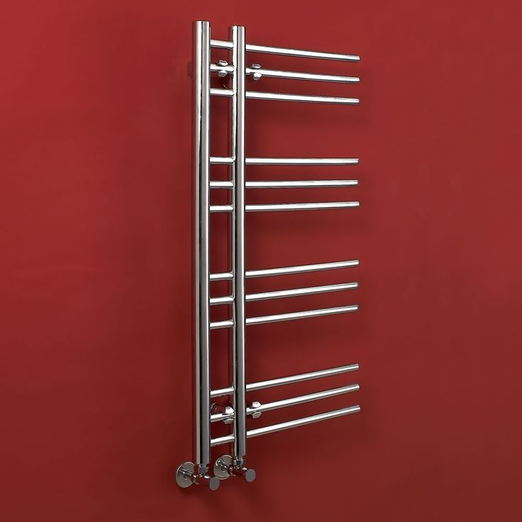 Check Out This Unusual Heated Towel Rail For The Bathroom.