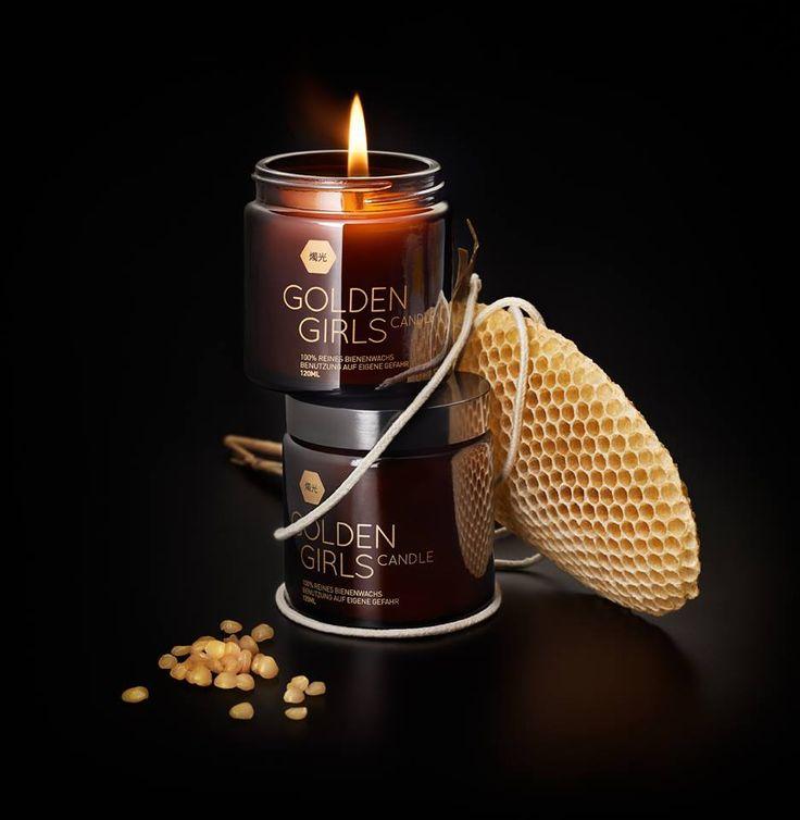 Golden Girls Honey Candles, handcrafted in Hamburg *  http://mylovelyhamburg.me/2015/01/05/golden-girls-honey-hamburg-mit-viel-liebe-gesammelt-handgeruhrt/