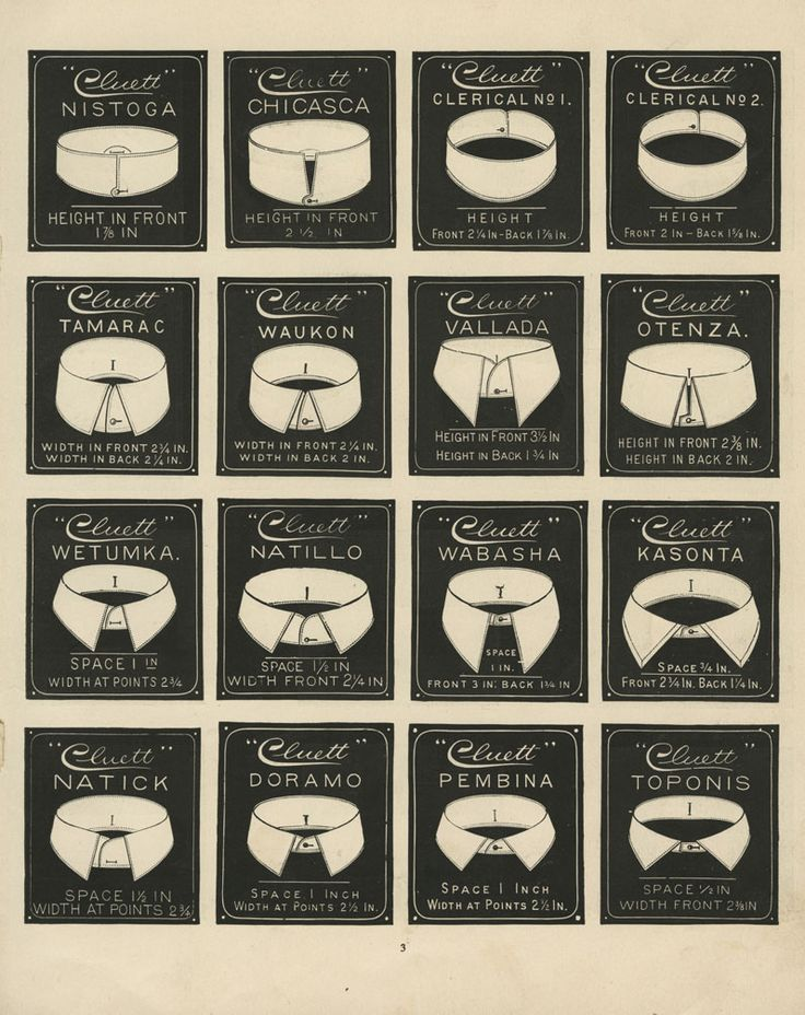 72 best clothing terms images on pinterest fashion for Mens shirt collar styles