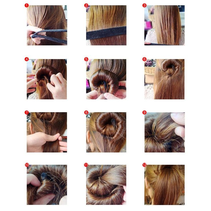 The 25+ best Hair bun maker ideas on Pinterest | Diy hair bun ...