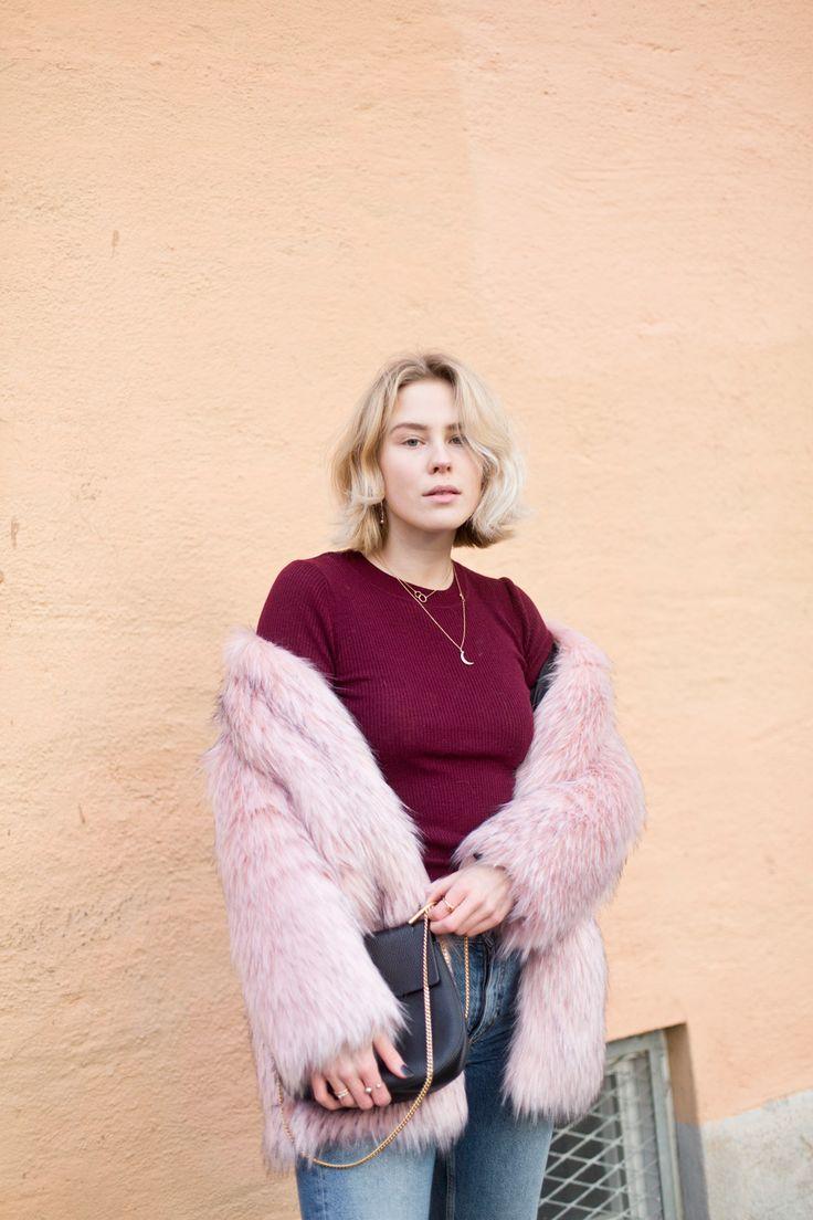 @Tuvaalicia wearing Nap Wool / STORM & MARIE