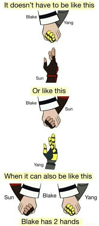 RWBY: It Doesn't Have to be Just One When it can be Both - Black Sun & Bumblebee