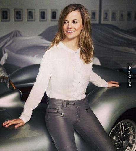 Susie Wolff - Scottish racing driver