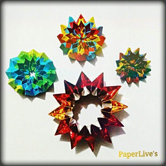 Alegría y color del Origami...