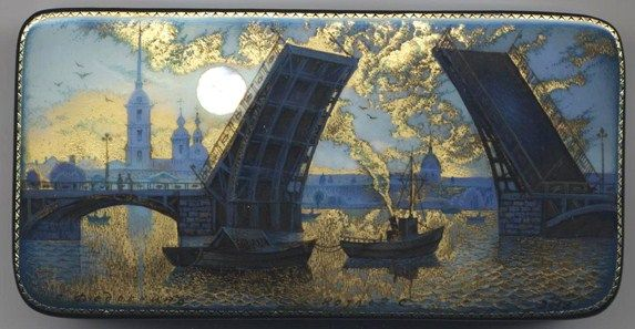 The Palace Bridge (Dvortsovy), St. Petersburg by Sergey Koslov