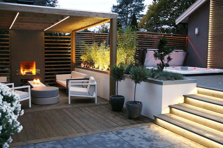 Lyser opp hagen med ny LED : Bygg.no - Byggeindustrien