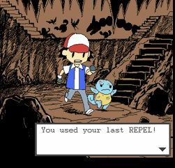I hate it when you use your last max repel and then right outside the cave there's a hidden max repel. So annoying