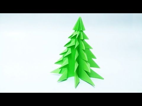 How to make: Paper Christmas Tree