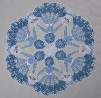 Circle of Love Crinoline Doily