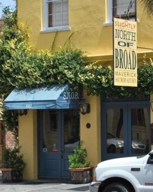 Slightly North of Broad (S.N.O.B.) My favorite restaurant Charleston, SC