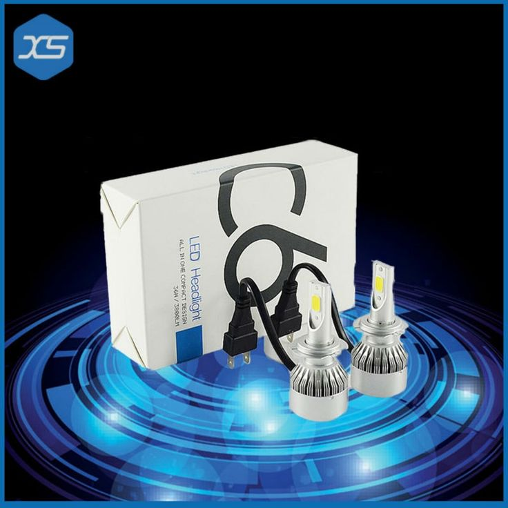 26.26$  Buy here  - 2x 36W Car LED Lamp 12V 3800LM 36W Auto H7 Headlight bulbs Headlight 6000K Car Headlight Bulbs H7 Super White