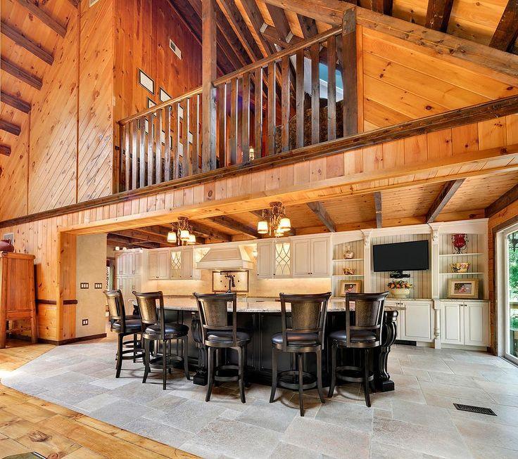 Log Cabin Kitchen Ideas 8