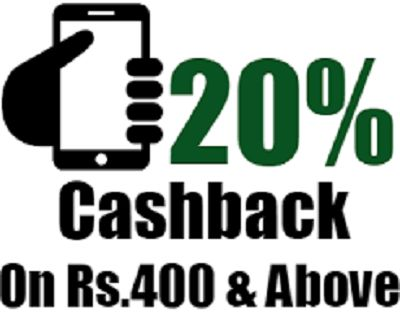 Freecharge is offering Get 20% Cashback on Postpaid Mobile Bill Payments of Rs.400 How to catch the offer: Click here for offer page Pay Postpaid Mobile Bill Payments of Rs.400 Apply offer codePOST20 Maximum Cashback Rs.100 valid only for new users Valid on Credit/Debit card transactions Offer valid only on FreeCharge App, Web & mWeb …