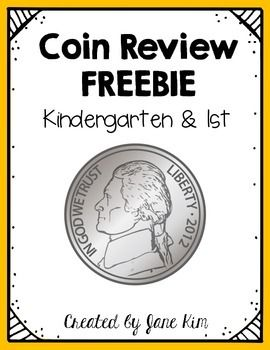 FREEBIE!!! This packet is perfect for your students to review coin concepts, such as identification, counting, and mixed coin practice. You can use it for a quick review, math center, or homework.