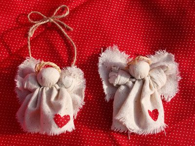 free rustic christmas crafts   Feel free to use and share my little angels. I hope if you make these ...