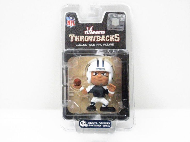 "New Lil' Teammates ""Throwbacks"" - Cowboys quarterback - collectible NFL figure #DallasCowboys"