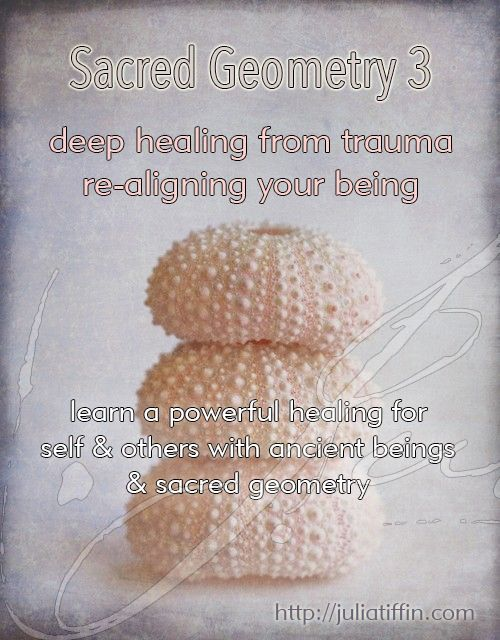Sacred Geometry 3 will teach you a deep healing technique with Sacred Geometry, crystals & ancient Egyptian energies to heal deep trauma. http://juliatiffin.com #returntothesacred