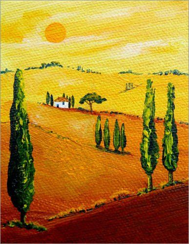 88 best My Tuscany-Art/Meine Toskana-Gemälde images on Pinterest ...