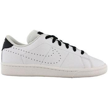Zapatos Niños Zapatillas bajas Nike tennis classic prm (gs) 834123 101 Blanco