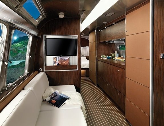 Land Yacht Trailer Decor and Interiors | Airstream