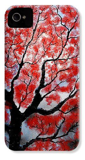 Spring IPhone 4 / 4s Case Printed with Fine Art spray painting image Spring by Nandor Molnar (When you visit the Shop, change the orientation, background color and image size as you wish)