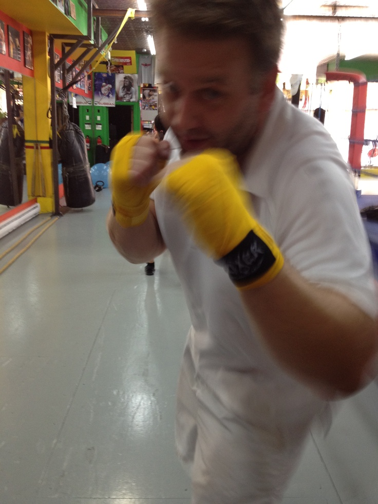 Our CIO has just joined our lunch sparring group.