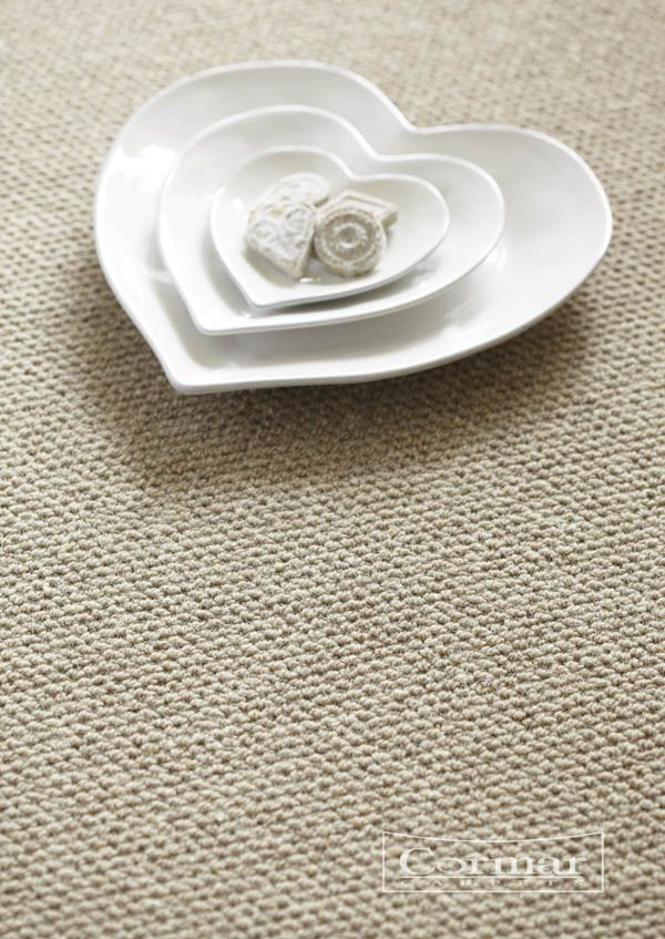 Cormar's 100% Pure New Wool Malabar range, colour Oatmeal in a Weave design.  Approx. Retail Price £29/sq m.