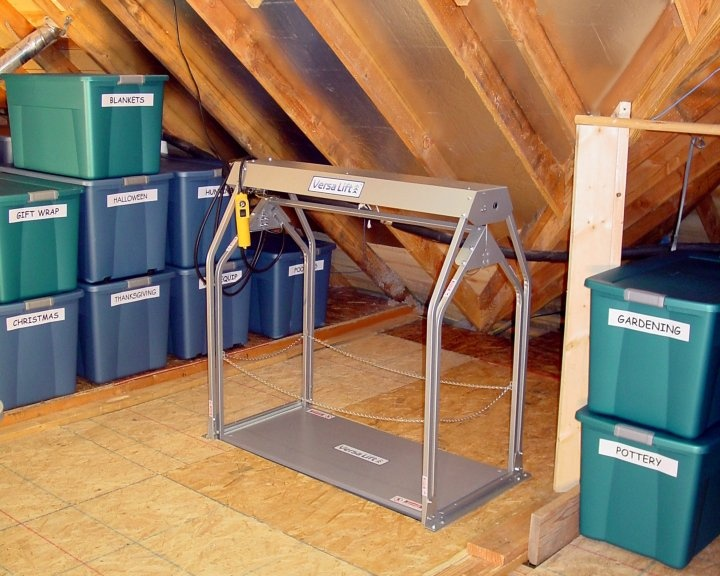 Superior Versa Lift For Attic Storage By Byers Product Group