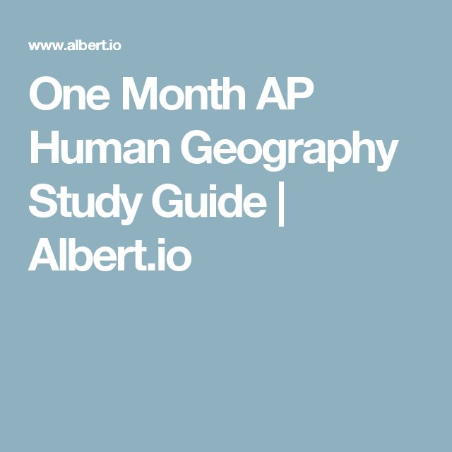 National Exam Material | Mr. Varley's AP Human Geography ...