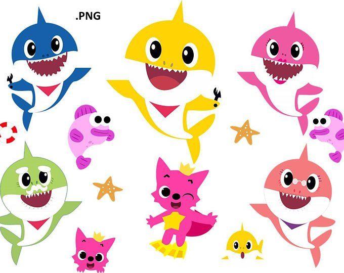 Baby Shark Png Download Etsy Baby Shark Baby Shower Songs Shark Theme Birthday