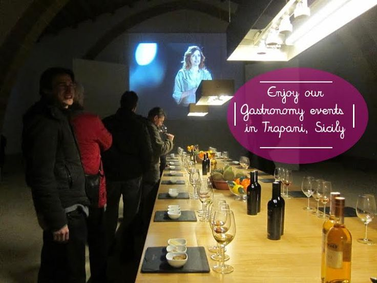 With a group in a local winery at #Trapani