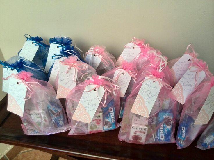 Silk bag party packs