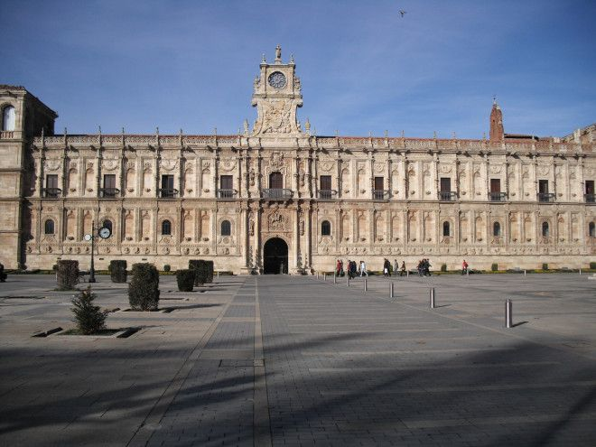 Parador San Marcos was once a convent and has always been a place to spend the night and rest.