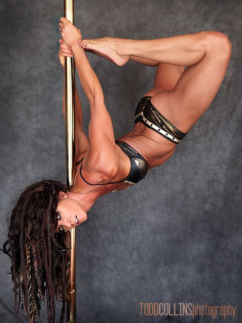 "http://damnnearnaked.com/ Damn Near Naked ""The Art of Feeling Naked in Your Clothes.""  Pole dance Zoraya Judd"