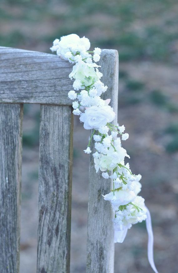 Flower Girl Wreath First Communion Wreath от Hollysflowershoppe
