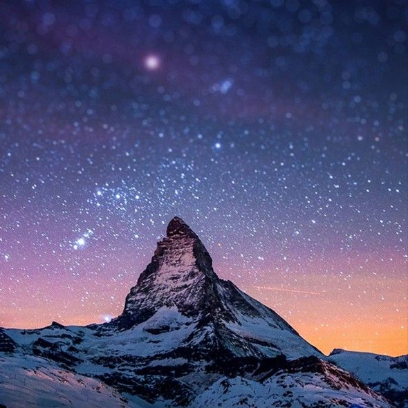 Mountin Top Space Smartphone Wallpapers HD