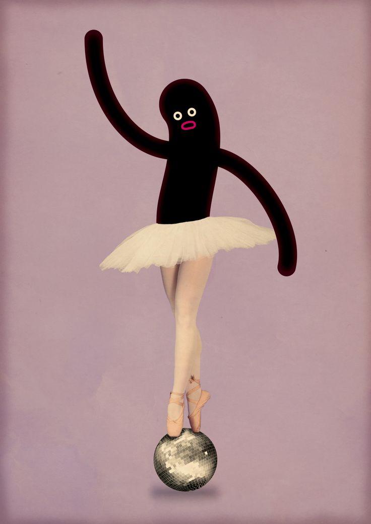 Se ti dico Dance Like Shaquille O'Neal, cosa mi disegni?   Marco Puccini: http://www.dlso.it/site/2013/02/13/passaporto-marco-puccini/