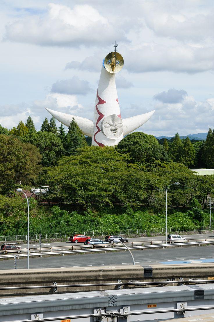 Tower of the Sun by Taro Okamoto in Expo'70 Park, Osaka, Japan 太陽の塔