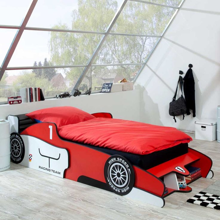 die besten 25 kinderbett auto ideen auf pinterest cars kinderbett autoverstauger tes und. Black Bedroom Furniture Sets. Home Design Ideas