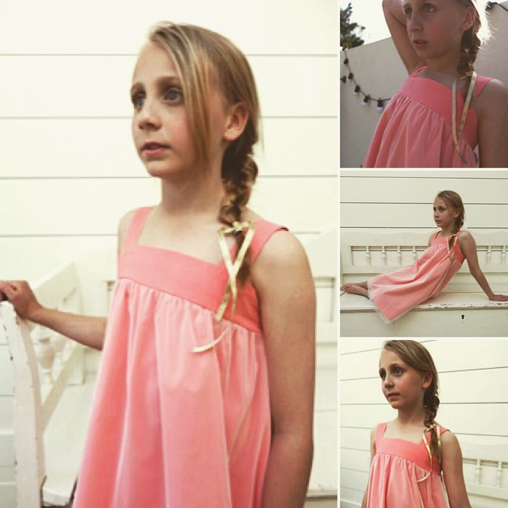 Coral reef dress. Ages 3-10 Years. All made in London