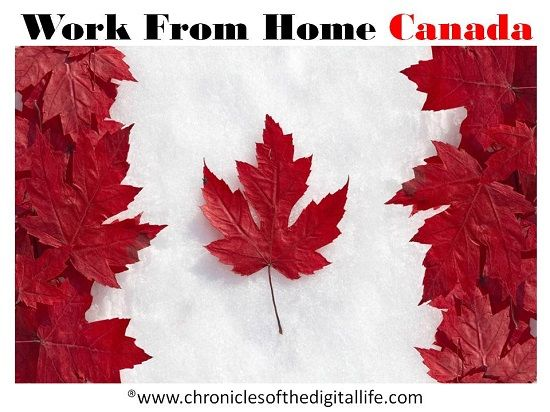 work from home canada