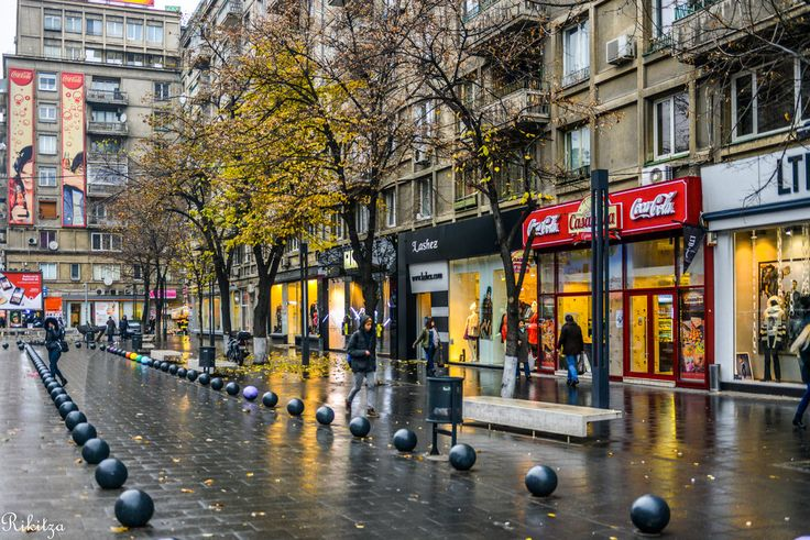 Wet Bucharest - Romania