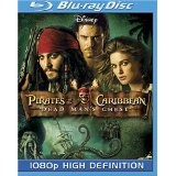 Pirates of the Caribbean: Dead Man's Chest  [Blu-ray] (Blu-ray)By Johnny Depp