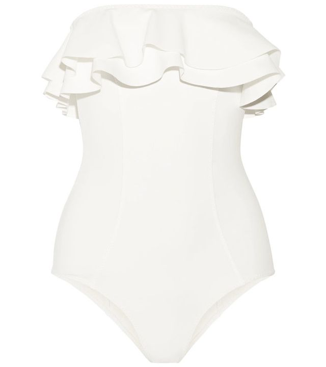 The white one-piece is the honeymoon must-have to really make a splash. See our pick of this season's most beautiful swimsuits, for a white-hot honeymoon guaranteed.